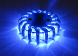 Blue Rechargeable LED Warning Light